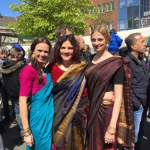 Bollywood Event 2016 mit Schülern