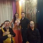 Shaheena Azar mit Guy Schalom und der Baladi Blues Band